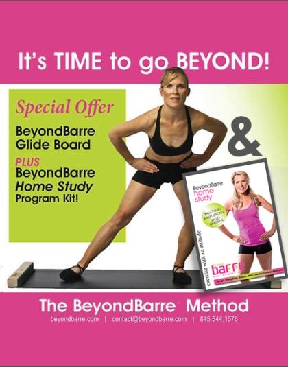 BeyondBarre GlideBoard & Home Study Combo