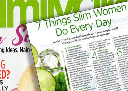 family-circle-7-things-slim-women-do-everyday